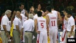 تیم ملی بسکتبال ایران در ترکیه