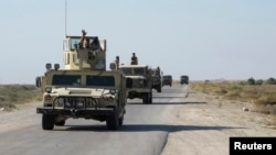 خودروهای نظامی ارتش عراق