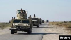 نیروهای ارتش عراق در «جرف الصخر»