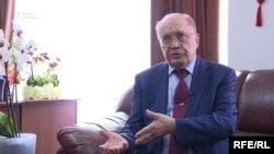Мәскеу мемлекеттік университетінің ректоры Виктор Садовничий.