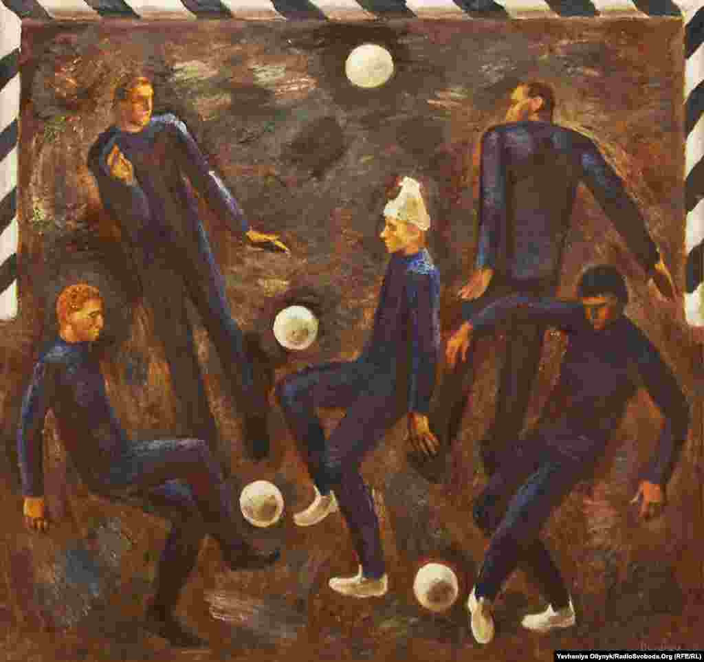 "Viktor Ryzhykh, ""Players,"" 1988"