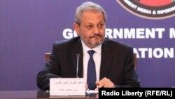 د عامې روغتیا وزیر فېروز الدین فېروز