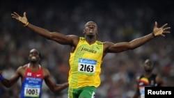 Рекордсмен мира на стометровке, ямайский спринтер Усэйн Болт