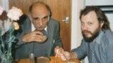 Александр Пятигорский (слева) и Игорь Померанцев. Лондон. Конец 80-х. Фото Лианы Померанцевой