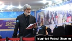 Iranian Parliament member Ali Motahari during the registration of Election nominees on December 06, 2019. Mr. Motahari later was announced unqualified by Guardian Council.