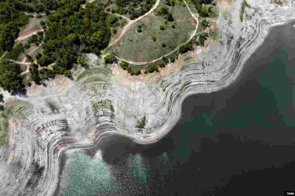 Зливи і грози поповнили Сімферопольське водосховище