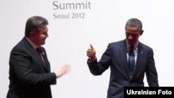 Янукович і Обама зустрілися у Сеулі