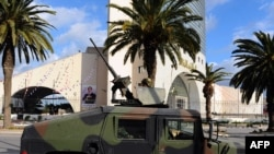 Soldiers have been deployed in the capital, Tunis, in a bid to restore order following the ouster of authoritarian President Zine El Abidine Ben Ali.
