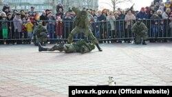 Виставка військової техніки, Сімферополь, 23 лютого 2017 року