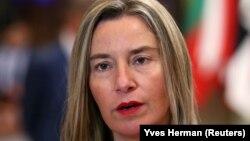 Shefja e politikës së Jashtme të BE-së, Federica Mogherini