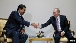 Predsjednik Venecuele Nicolas Maduro i ruski predsjednik Vladimir Putin, 2015.