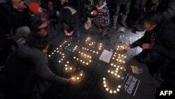 У всьому світі загиблих унаслідок нападу на редакцію вшанували акціями