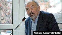 Председатель Союза театральных деятелей Казахстана Тунгышбай Жаманкулов. Алматы, 17 февраля 2015 года.