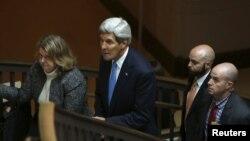 Secretarul de stat John Kerry, după audierile din Senat