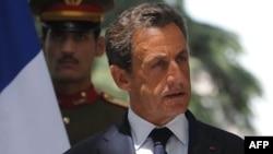 Президент Франции Николя Саркози.