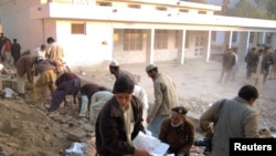 Mohmand region has been the scene of suicide bombings, like this attack that killed