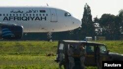 Лайнер A320 ливийской авиакомпании Afriqiyah («Африкия») Airways.