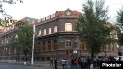 Armenia - The headquarters of the ruling Republican Party of Armenia in Yerevan, 8Sep2016.