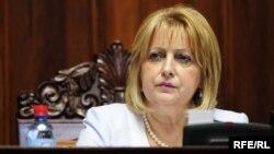 Претседателот на српското Собрание Славица Ѓукиќ Дејановиќ
