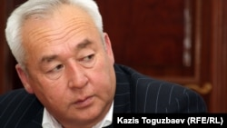 Seitkazy Mataev, chairman of the Kazakh Union of Journalists of Kazakhstan (file photo)