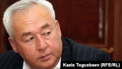 Seitqazy Mataev, the chairman of Kazakhstan's Journalists Union