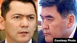 Өмүрбек Бабанов менен Камчыбек Ташиев