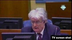 Radovan Karadžić u sudnici 11. veljače 2011