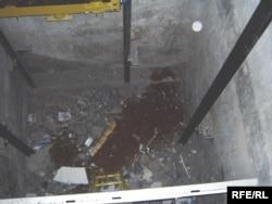 Көпқабаттағы үйдегі лифт шахтасы