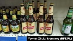 Пиво «Черниговское» в севастопольском супермаркете