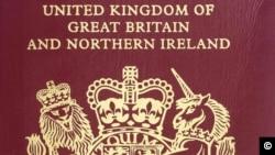 Noua coperta a pasapoartelor britanice
