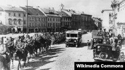 Чырвоная армія ўваходзіць у Вільню, 19 верасьня 1939