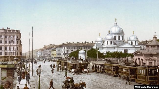 У 19 стагодзьдзі Санкт-Пецярбург быў месцам, дзе пачынаўся беларускі студэнцкі рух