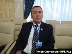 """Ак Токо"" повестинин автору Темирбек Жолдубаев. 21.10.2016."