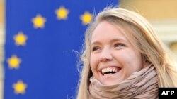 Евромайдан в Киеве. Там ЕС действительно популярен
