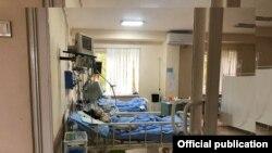 «Սուրբ Գրիգոր Լուսավորիչ» բժշկական կենտրոնի վերակենդանացման բաժանմունք, 10 մայիսի, 2020թ.
