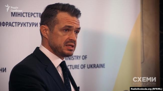Керівник Державного агентства автомобільних доріг України Славомір Новак