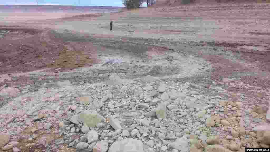 Восени 2016 підконтрольному Кремлю Держкомітеті з водного господарства і меліорації Криму повідомили, що обсяг води Тайганського і Білогірського водосховищ стрімко падає. Станом на 24 листопада 2016 року наповнюваність водосховищ склала приблизно одну десяту нормального обсягу