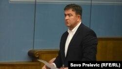 Tvrdi da je na meti kriminalnih krugova: Nebojša Medojević