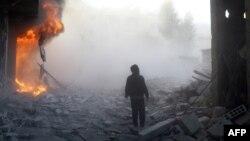 Region istočne Ghoute, u blizini Damaska, 8. 12. 2015.