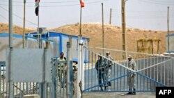 معبر خسروي في محافظة ديالى على الحدود بين العراق وايران