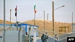 نقطة خوسراوي الحدودية في ديالى بين العراق وايران