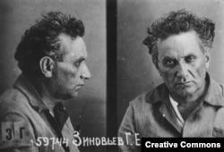 Григорий Зиновьев. Тюремное фото. Декабрь 1934 года