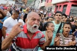 Венесуэльцы – один из народов, наименее довольных своим настоящим. Акция протеста против дефицита продуктов питания в Каракасе