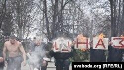 Беларускі спэцназ адзначае Масьленіцу