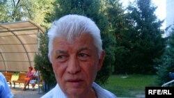 Серикбек Жамали, активист партии «Азат», пенсионер. Август 2009 года.