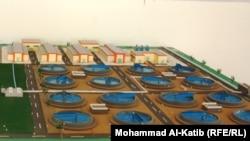 مخطط مشروع ماء الموصل الايمن