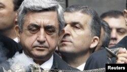 Armenian President Serzh Sarkisian reportedly spoke to Biden in 2009