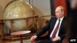 Володимир Путін під час візиту до Сербії, 16 жовтня 2014 року