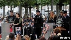 Памятные мероприятия по случаю 18-й годовщины терактов 11 сентября, Нью-Йорк, 11 сентября, 2019