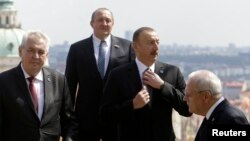 Prezident İlham Əliyev Praqada «Şərq Tərəfdaşlığı» sammitində - 2014